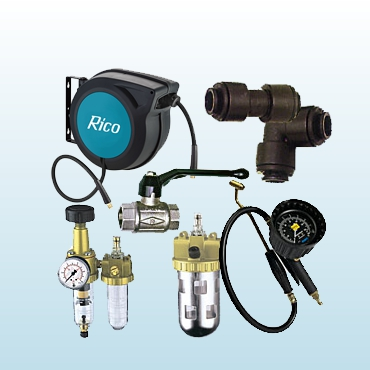 Compressed air accessories